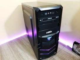 Torre Gamer Master Race - I5 7400 + GTX 1060 + 8GB RAM + 250 M.2 SSD