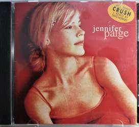 Jennifer Paige. Crush. Cd original. Excelente estado. Como nuevo.