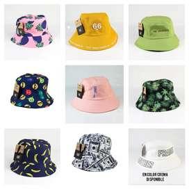 Gorros bucket hat