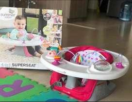 Silla comedor 4 en 1 para beb Marca Summer Infant