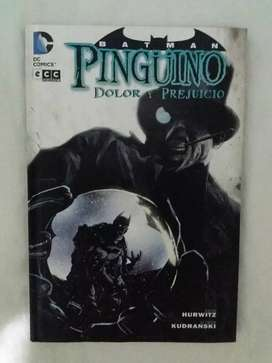 Batman pinguino dolor y prejuicio dc comics ecc nuevo oferta