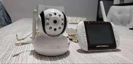 Cámara y Monitor para bebes Motorola