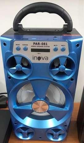 Parlante portatill bluetooth karaoke