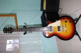 Vendo guitarra epiphone les paul 100
