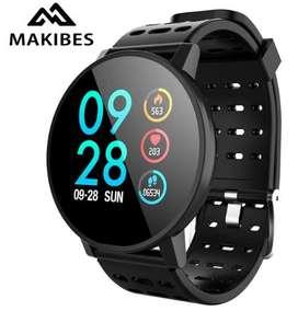 Makibes T3 Reloj Inteligente , Impermeable, Fitness Tracker