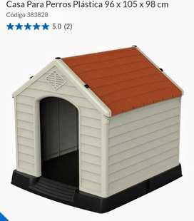 Casa para perros  raza mediana y grande plastica Rimax