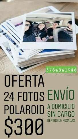 24 Fotos Polaroid Oferta