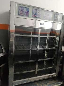 Nevera vertical refrigerador panoramico