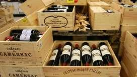 Comercial en vino