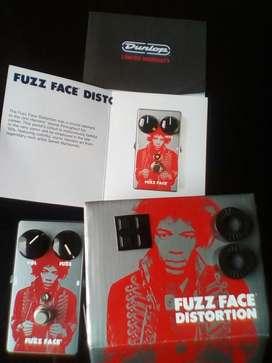Pedal de Guitarra Mxr Fuzz Face Jimi Hendrix hecho en eeuu