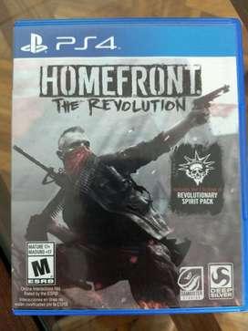 Homefront Juego Playstation 4