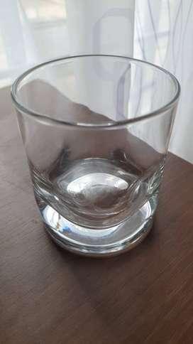 Vaso cristal  Whisky Redondo 8 Oz con diseño