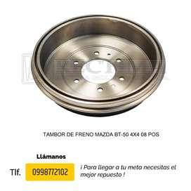 TAMBOR DE FRENO MAZDA BT-50, B1600, B2200, B2600, ALLEGRO, 323