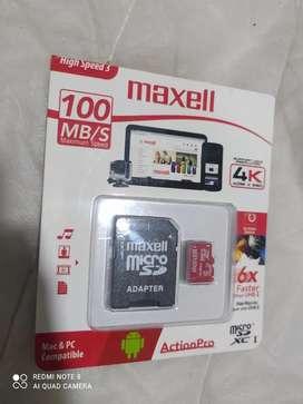 Memoria micro SD 128 GB- 4K 4096x2160