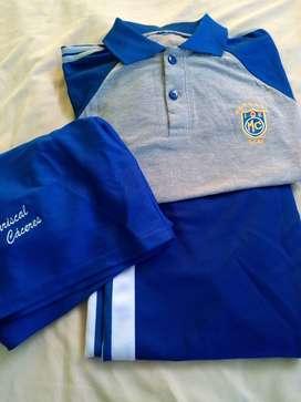 Buzo y uniforme de IE.Mariscal caceres