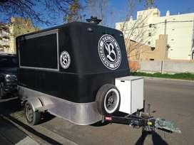 Vendo permuto food truck mactrail