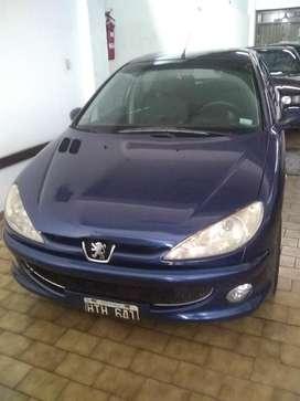 Peugeot 206 Premium 2008 115 Mil Km muy buen estado