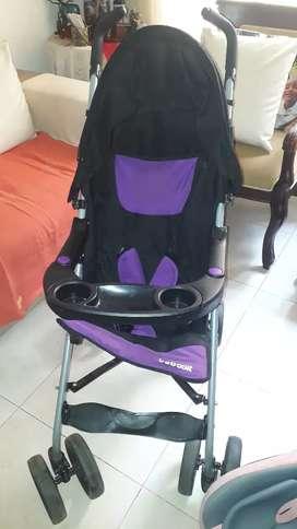 Paseador y silla de carro