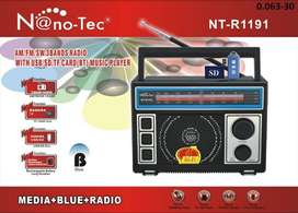 Radio Nano-Tec con ranura micro-SD y USB NUEVO