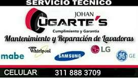 Servicio técnico para lavadoras, revisión a domicilio.