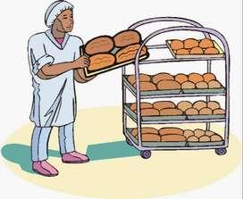 Ayudante en Panaderia