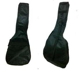 Dos fundas para guitarra