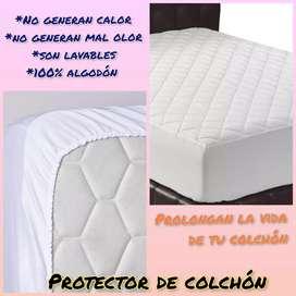 Forro protector para colchón