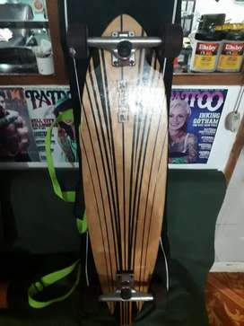 Longboard  patineta