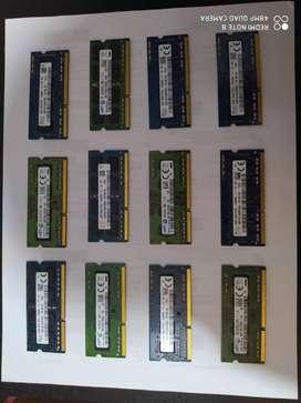MEMORIAS DDR3 DE 4 GB PARA PORTATIL BUS 1600
