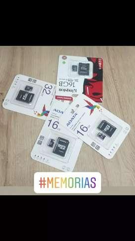 Memorias micro SD para celular