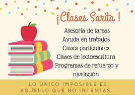 CLASES PERSONALIZADAS, AYUDANTÍA Y ASESORIA