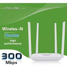 Repetidor wifi 4 antenas de base
