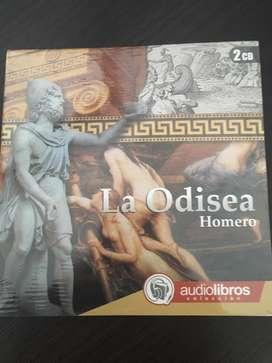 Libro audio La Odisea Homero nuevo 2cd