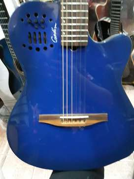 Requinto Godin Slim Electroacustico Azul