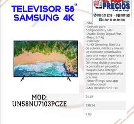"TV Samsung 58"" 4k"