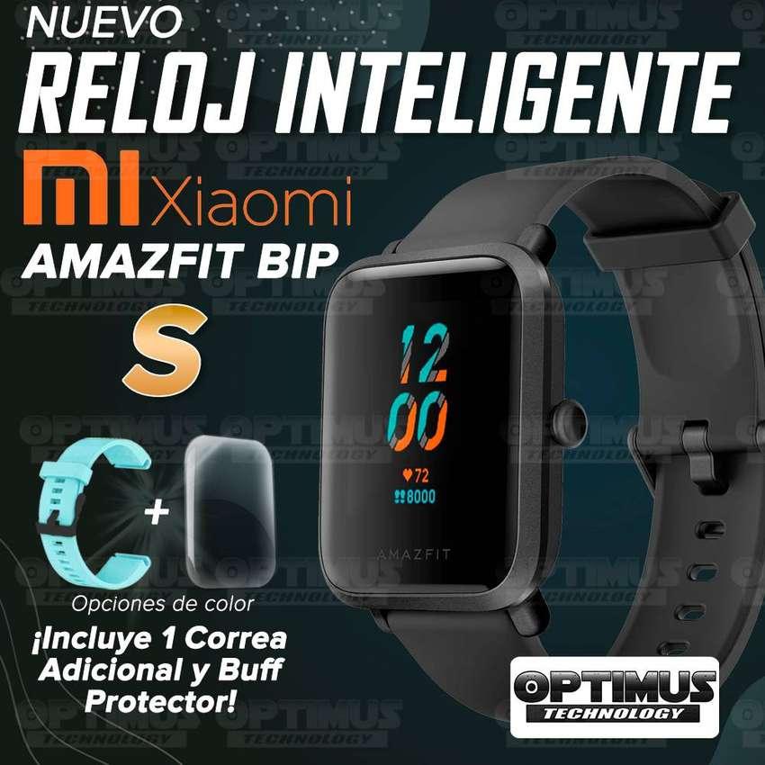 Reloj Inteligente Smartwatch Xiaomi Amazfit Bip S + Correa Manilla Adicional + Buff Screen Pelicula Protector