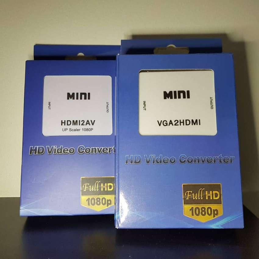 CONVERTIDOR VGA A HDMI o HDMI a VGA, NUEVOS, PRECIO POR CADA UNO 0