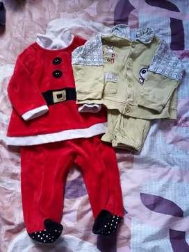 Vendo lote de ropa para bebé varón 0 a 3 meses