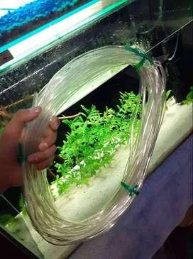 Manguera siliconada para acuario