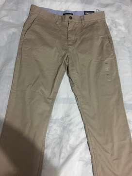 Pantalón Tommy 32X32 Color Caki