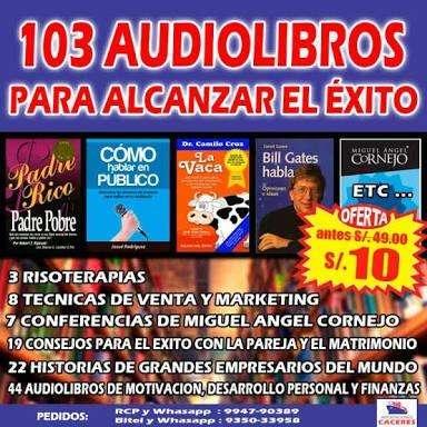 103 Audiolibros Para Alcanzar El Éxito 0