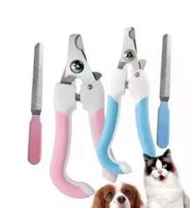 Alicate + lima para perro gato mascota
