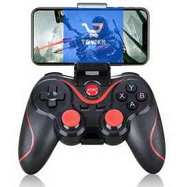 Joystick X3 Game pad controlador de juego para celular bluetooth BT3.0 + aplicativo de JUEGOS