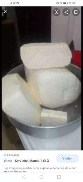 Venta de queso en manta