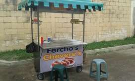 Carreta para hot dog. (Cheveres)