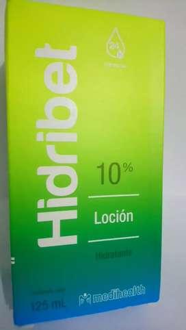 HIDRIBET LOCION HIDRATANTE 10 %