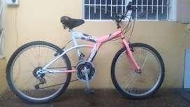 Se vende bicicleta bonita