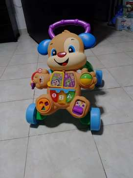 Andador perrito Fisher price