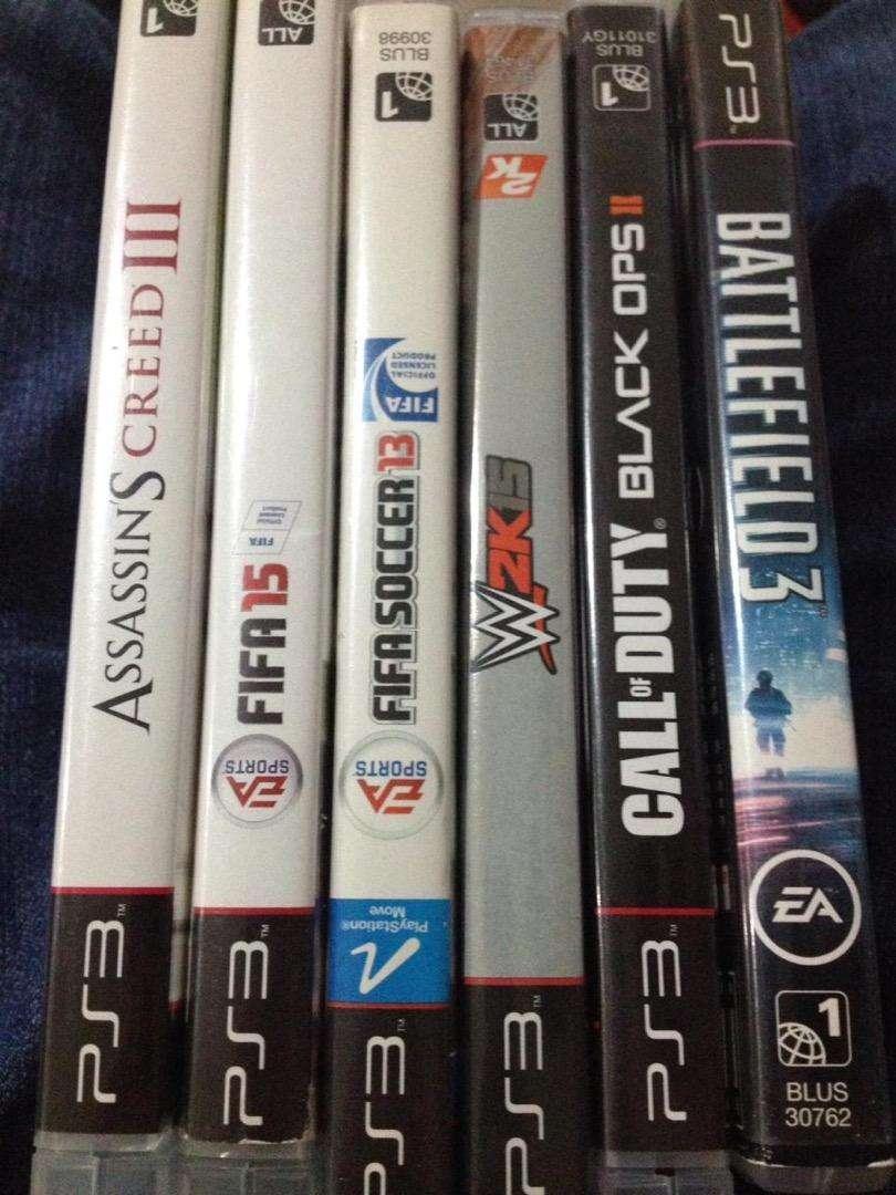 6 juegos de playstation 3 0