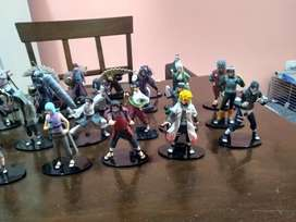 Lote de 39 figuras de Naruto shippuden segunda mano  Grand Bourg, Capital Federal y GBA